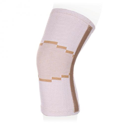 Бандаж на коленный сустав эластичный с ребрами жесткости KS-E02