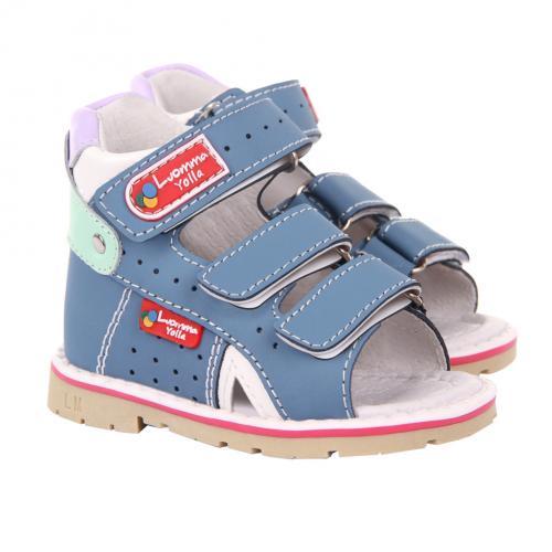 Обувь ортопедическая детская с открытыми носом LM101