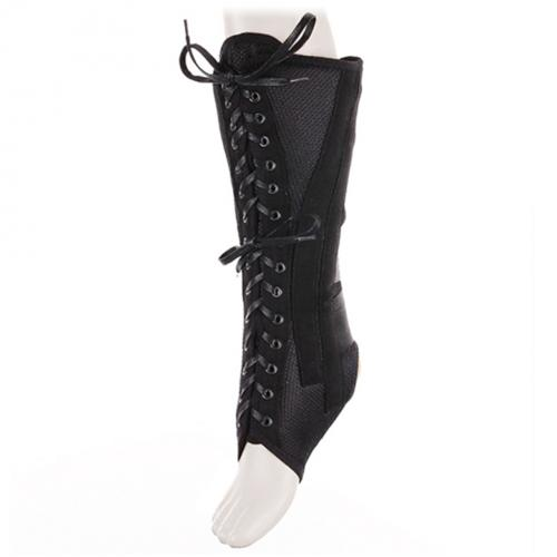 Бандаж на голеностопный сустав высокий со шнуровкой и ребрами жесткости AS-ST/H